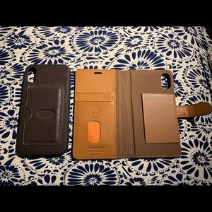 Other - Uunique Genuine Leather iPhone XR case
